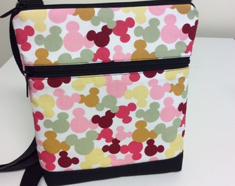 Disney Icon Print Crossbody Bag