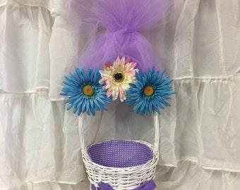 Troll's Easter Basket-Purple