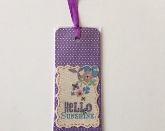 Purple Bookmark Book Lover Gift book accessories journal accessories planner accessories