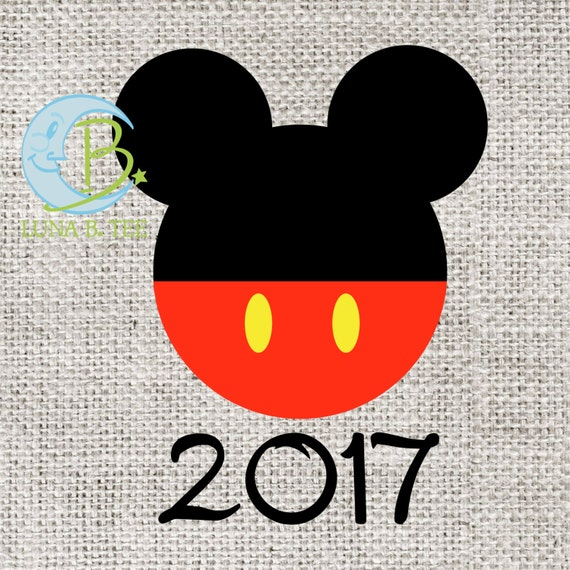 INSTANT DOWNLOAD Disney Family Vacation Cruise Mickey 2017 Shirts Printable DIY Iron On to Tee T-Shirt Transfer - Digital File