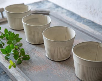 White Ceramic bowl, Small Ceramic Bowl, Serving Salad Bowl, Ceramic Serving Bowl, Small Serving Bowl, White Cereal Bowl, Modern ceramic bowl