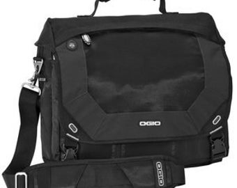 OGIO Messenger Bag Jack Pack Monogrammed Personalized Great Graduation Gift or Groomsmens Gift or Corporate Gifts set of 6