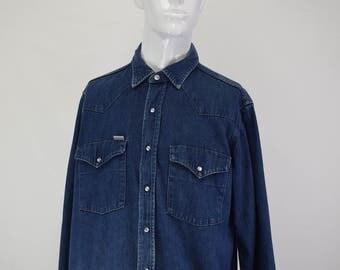 Carhartt Button Up Denim Shirt