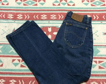 Vintage Lee Brand High Waist Denim Jeans