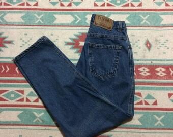 Vintage Gitano Brand High Waisted Denim Jeans