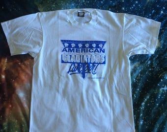 Vintage American Gladiators Live Tour Seven Eleven T-Shirt