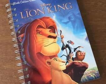 The Lion King Little Golden Book Recycled Journal Notebook