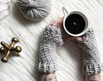 Penelope Gloves // Crochet Pattern // Easy // Fingerless Gloves // Hand Warmers