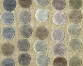 Avery dots Mauve/taupe pillow cover - Lee Jofa