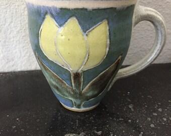 Vintage Tulip Coffee Mug Coffee Cup