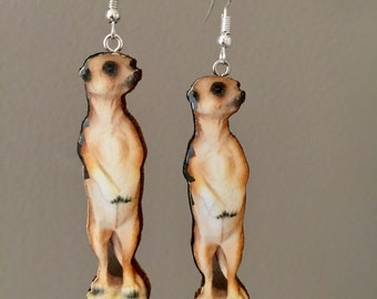 Meerkat Earrings