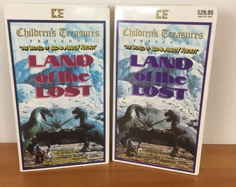 80s Land of the Lost VHS Tapes, Volume 1 & 2