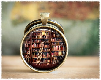 Book Keychain • Book Lover Gift • Gifts For Readers • Book Keyring • Literary Gift