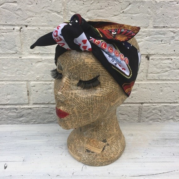 Las Vegas Headscarf Rockabilly Pinup