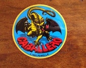 Vintage NOS Steve Caballero Dragon Skateboard Sticker Powell Peralta Bones Brigade New Old Stock Free US Shipping 80s Retro Sk8 Decal