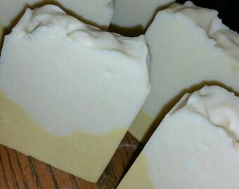 Handcrafted Lemon Coconut Milk Soap