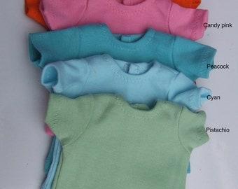 "Ready to Ship - Short Sleeves basic T-shirt for 16/17"" Sasha/Gregor"