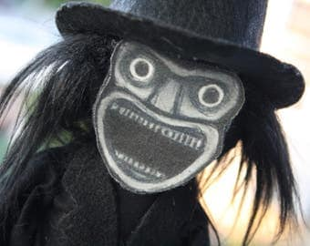 Mr. Babadook doll - MADE TO ORDER