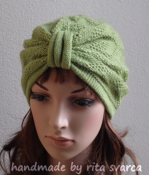 turban de mode pour les femmes en tricot hiver chapeau femme. Black Bedroom Furniture Sets. Home Design Ideas