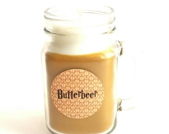 Butterbeer, Hogwarts, Candle, Slytherin, Hufflepuff, Gryffindor,Ravenclaw, Nerd candle, Book candle ,Harry Potter, Witchcraft