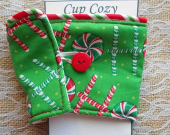 Christmas Coffee Tea Cup Cozy