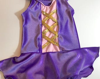 Princess Rapunzel Leotard*free shipping