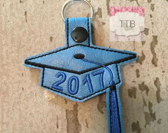 Graduation Cap 2017 Key Chain