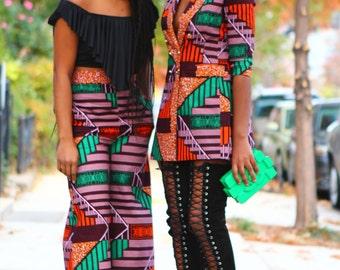 KENYA - Tailored Double Brest Jacket Dress - New
