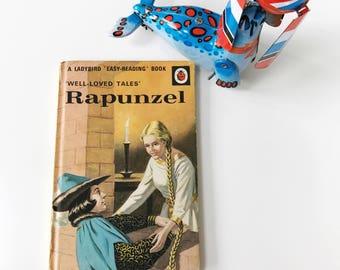 Vintage 1968 Ladybird Book Rapunzel Well Loved Tales Series 606D Matte Hardback