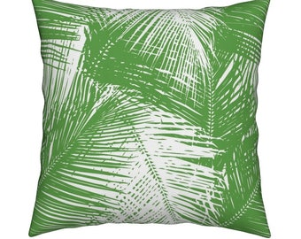 Palms Green Pillow Cover