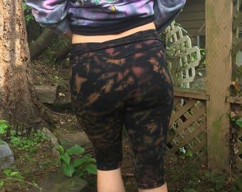 Tiger booty short leggings