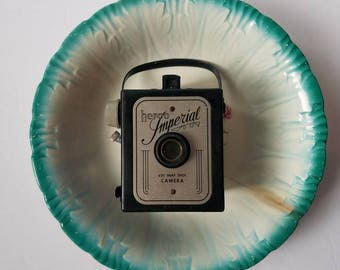 Snapshot - Herco Imperial 620 snap shot box camera, Art Deco look, fun retro photography prop
