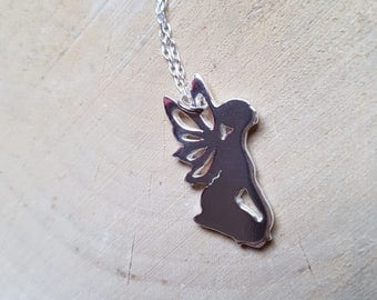 Fairy Necklace Pendant Fairy Charm Fantasy Necklace Fairy Gift Pixie Necklace Fairy