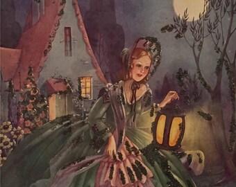 Vintage Fairytale Kitsch Print