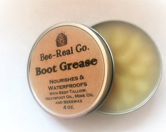 All Natural Boot Grease