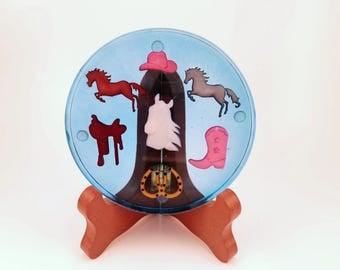 Round Up Handmade Resin Coaster