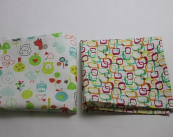 Cotton Handkerchiefs: set of 2