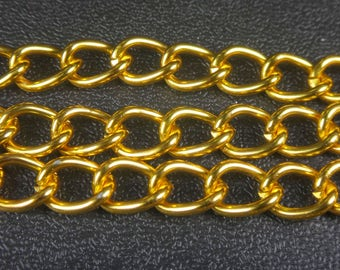 Curb chain etsy for Craft chain by the foot