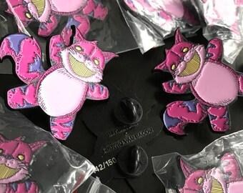Plushie Cheshire Cat pin