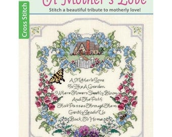 Leisure Arts A Mother's Love Counted Cross Stitch Pattern