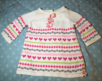 Knit Baby Dress for Baby 0-3 Months by Janie and Jack