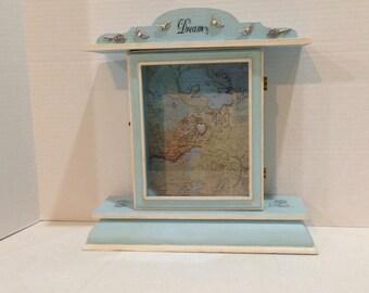 Travel Dream Box, Beautifully Detailed Spiritual Art, Shadow Box, Travel Ideas