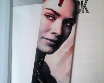 Cersei Lannister Bookmark, Game of Thrones, Decoupage,