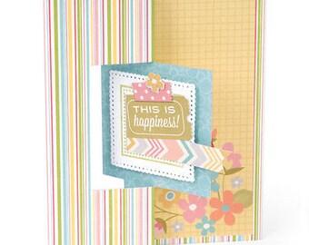 Sizzix Framelits Dies 12/Pkg-Square #2 Flip-Its Card