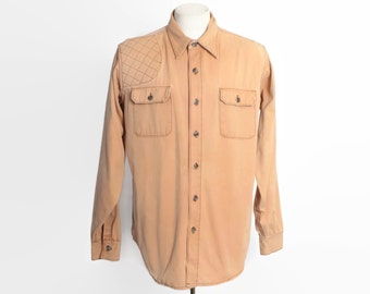 Vintage 70s PATAGONIA SHIRT / 1970s Long Sleeve Hunting Button Down Sportswear XL