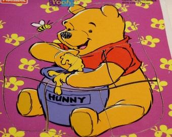 Playskool Wooden Puzzle: Pooh's Favorite Snack