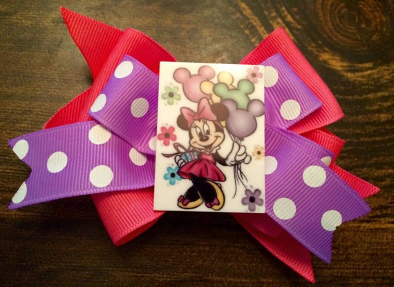 Minnie Mouse Balloon Bow