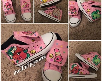 Hand Painted Shopkins Sneakers
