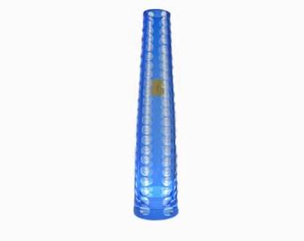 Mid Century Glass Vase | VEB Kunstglas Wasungen | DDR - Ost Germany