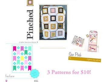 Pattern Sale!!! 3 patterns included!